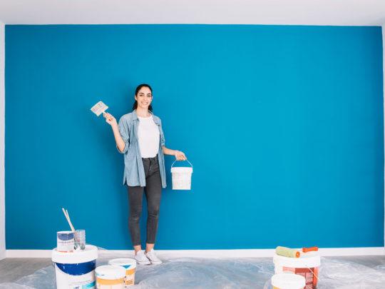 escoger pintura casa